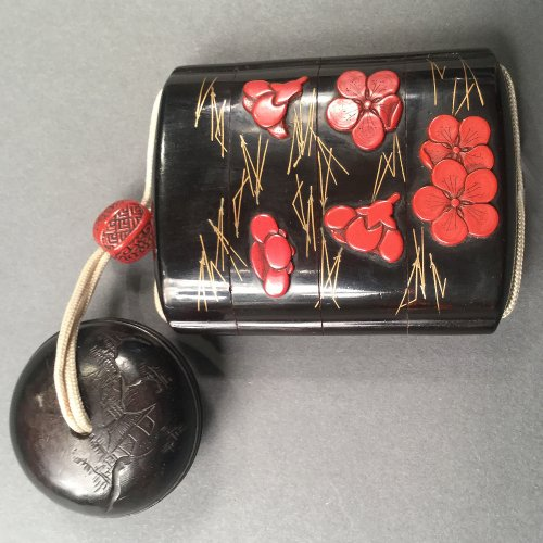 Asian Art & Antiques  - Japan, Lacquer Inro from the Meiji Period