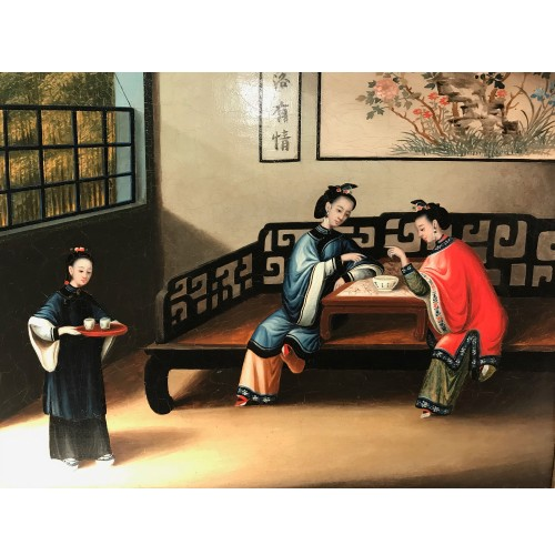 Paintings & Drawings  - YOUQUA (Attributed to, circa 1850) - Every day life in China