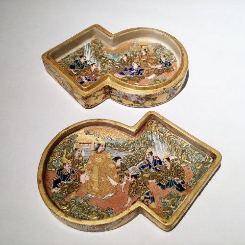 Japan, Satsuma, Meiji period Kogo  ( box) by Shozan -