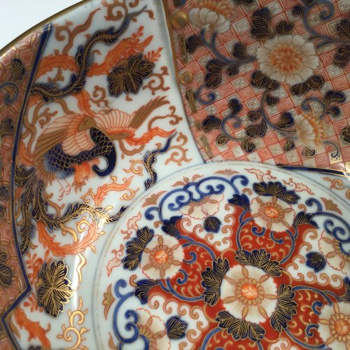 Japan, Imari bowl, Koransha, Meiji period -