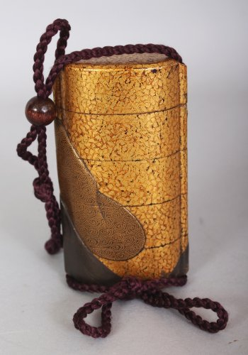 lacquer Inro attributed to Ipposai - Japan Meiji period -