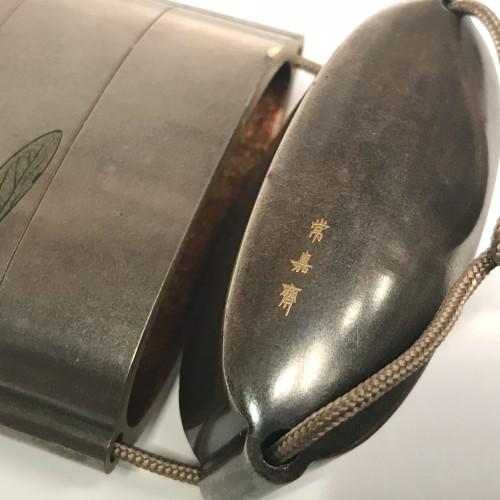 Japan, a  four-cases Inro , Signed Jokasai, Edo Period, early 19th century. -
