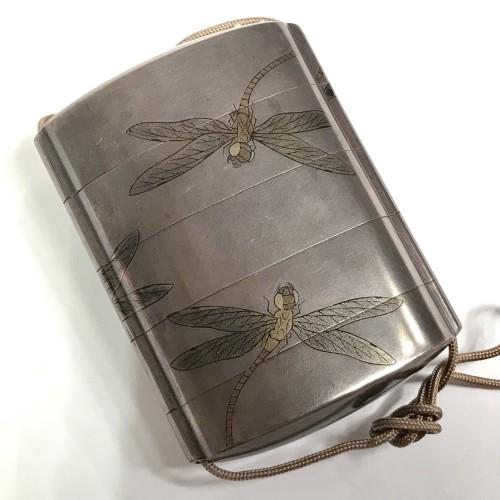19th century - Japan, a  four-cases Inro , Signed Jokasai, Edo Period, early 19th century.