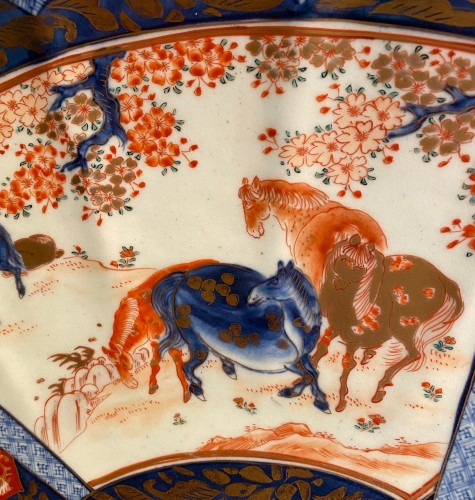 Asian Art & Antiques  - Very Large Imari Charger, Meiji period.