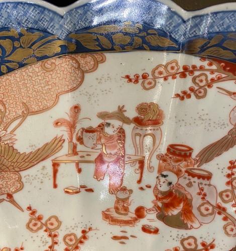 - Very Large Imari Charger, Meiji period.
