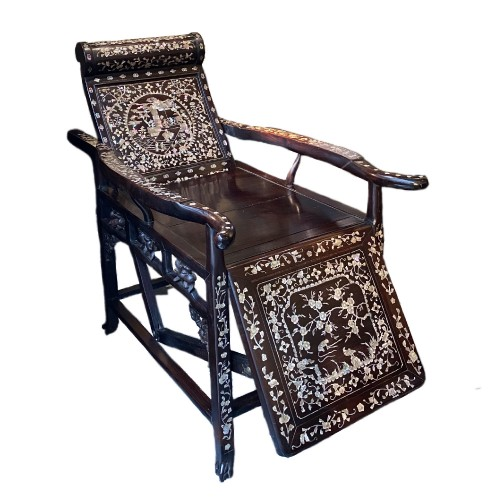 Moon gazing Chair, China or Vietnam, 19th century
