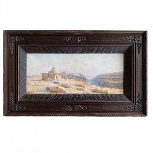 Constant Louche (1880-1965) - Landscape, view of M'Sila