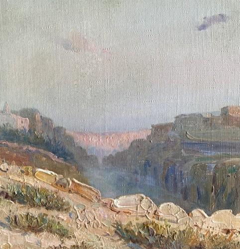 Constant Louche (1880-1965) - Landscape, view of M'Sila -