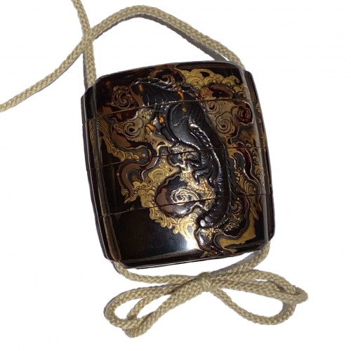 Japan, lacquer and tortoiseshell inro, Edo period, early 18th century - Asian Art & Antiques Style