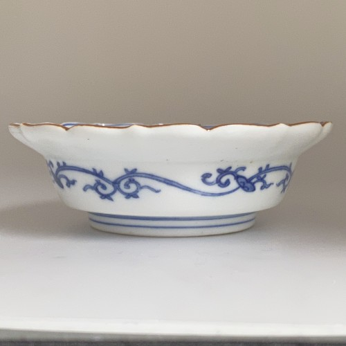 Asian Art & Antiques  - A Japanese Blue and White Porcelain flat bowl c.1690 – 1740