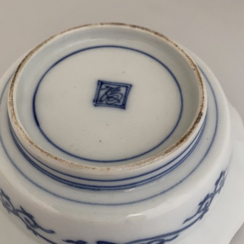 A Japanese Blue and White Porcelain flat bowl c.1690 – 1740 -