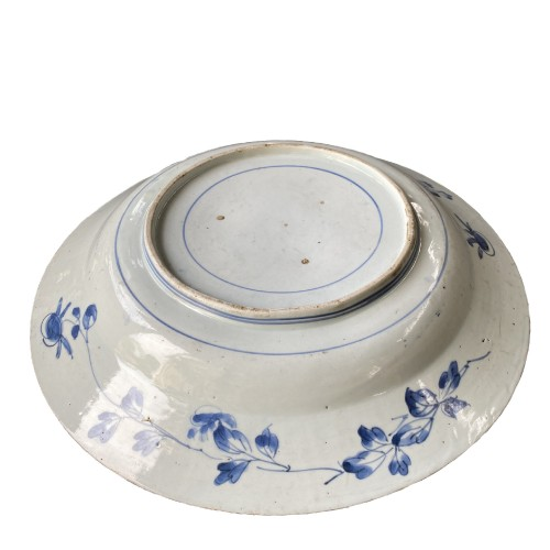 Japan, large blue and white porcelain charger, 17th century - Asian Art & Antiques Style