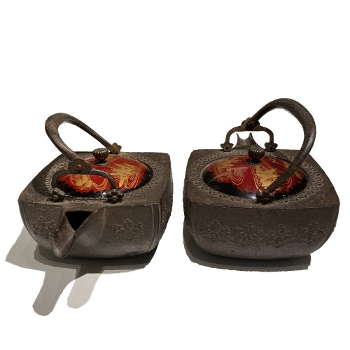 Asian Works of Art  - Pair of choshi, Japan 19th century