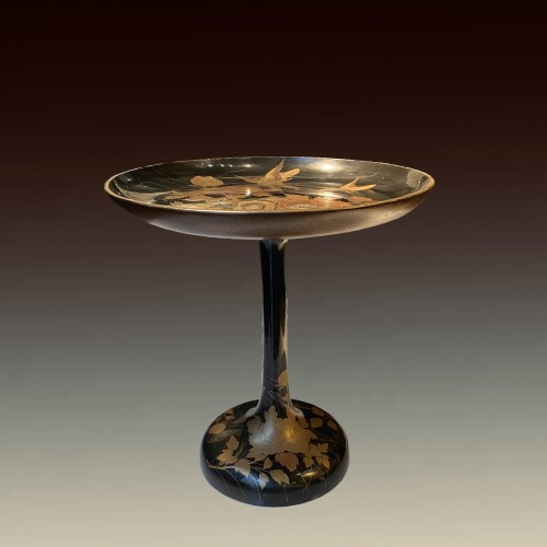 A Japanese lacquer Takatsuki (stem table), 19th century  - Asian Works of Art Style