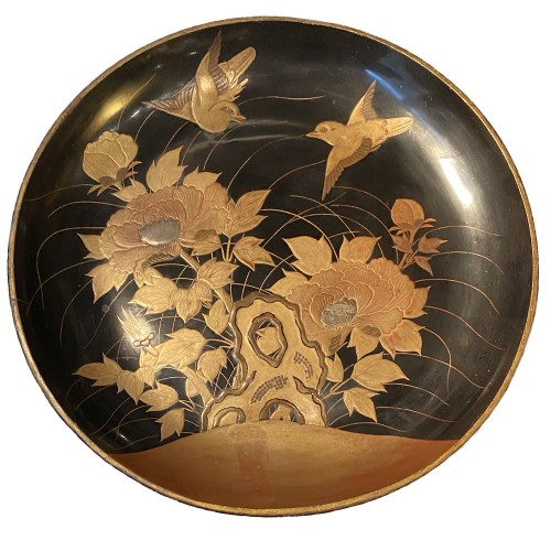 A Japanese lacquer Takatsuki (stem table), 19th century  -
