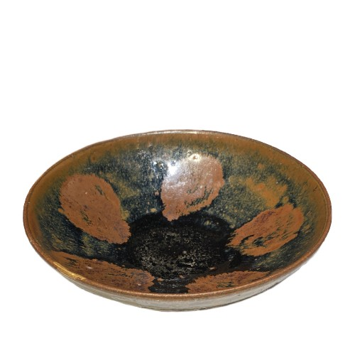 A Fine Song or Jin Dynasty Black Pottery Bowl of Cizhou Type, 12th, 13th ce