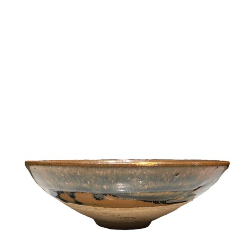 A Fine Song or Jin Dynasty Black Pottery Bowl of Cizhou Type, 12th, 13th ce -