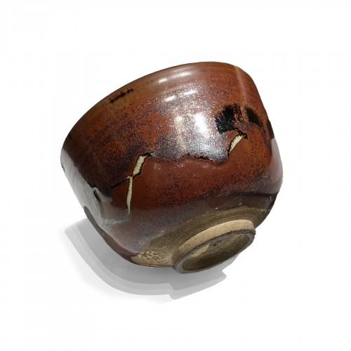 Japan, A glazed tea bowl by Eiraku (1823-1896), Gonse collection.