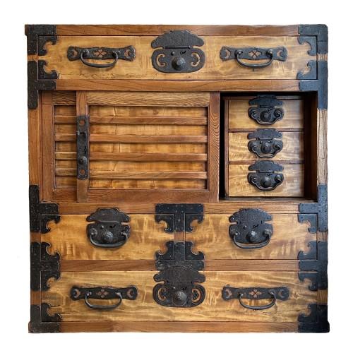 Merchant's chest, Choba Dansu, Japan, late Edo period -