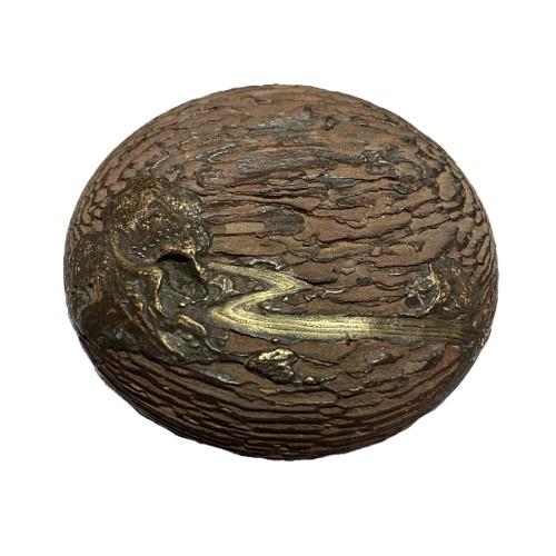 18th century - Kogo, lacquer incense box, Japan Edo period 18th century