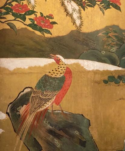Japan, Six folds screen, Kano school, Edo period -