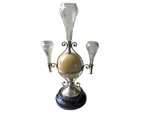 Ostrich egg mounted, Napoleon III