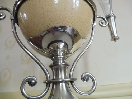 Ostrich egg mounted, Napoleon III -