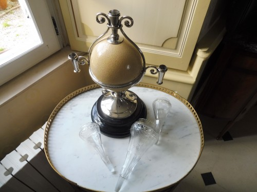 19th century - Ostrich egg mounted, Napoleon III