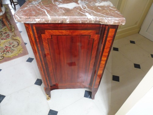 French commode stamped  Bon Durand - Furniture Style Transition