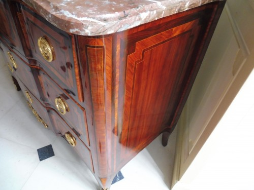 French commode stamped  Bon Durand - Transition