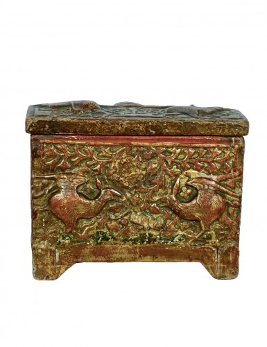 Casket depicting harpies - Catalogna XV century