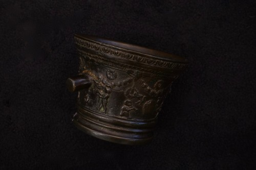 Bronze mortar - Tuscany - second half of XVI century - Collectibles Style Renaissance