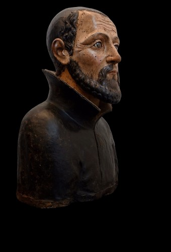Bust of a man - Naples, around 1580 - Sculpture Style Renaissance