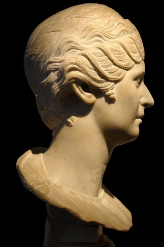 Faustina Maior - Italy, second half of XVIII century - Sculpture Style Empire