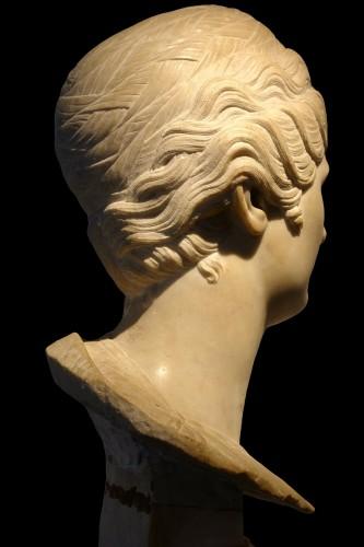 Sculpture  - Faustina Maior - Italy, second half of XVIII century
