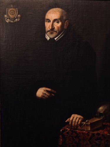 Portrait of a gentleman from Della Ruota family - Lombardy, dated 1624