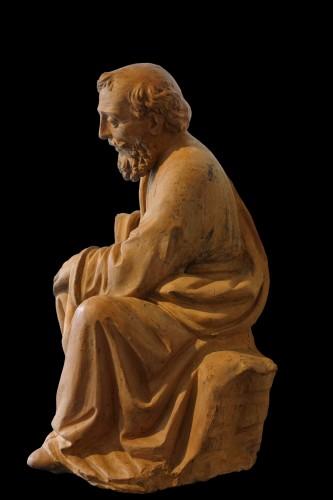 Fra Mattia Della Robbia -  Saint Joseph - Tuscany, around 1505-1510 - Sculpture Style Renaissance