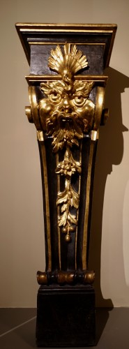 Pair of pedestals - Florence, early 17th century - Decorative Objects Style Renaissance