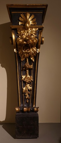 Decorative Objects  - Pair of pedestals - Florence, early 17th century