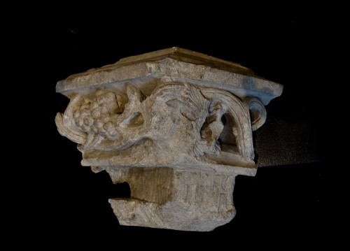 Carved corner frieze - France - 15th century - Middle age