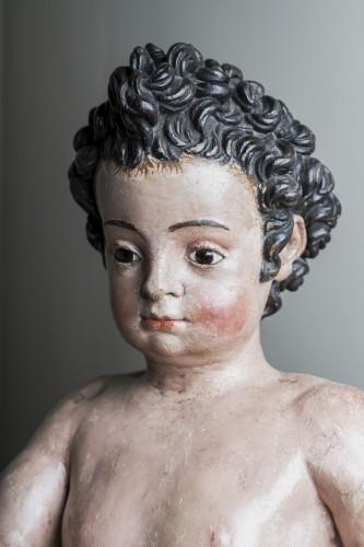 Infant St John the Baptist , 17th century, Cercle of Juan Martinez Montañés -