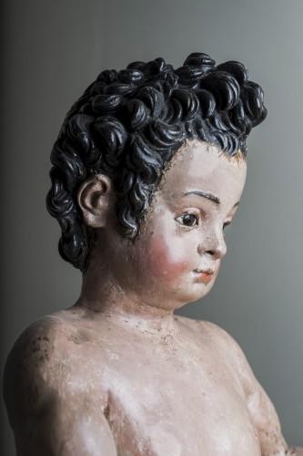 17th century -  Infant St John the Baptist , 17th century, Cercle of Juan Martinez Montañés