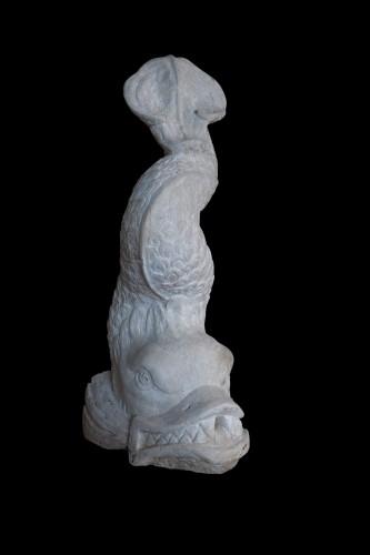 Dolphin - Italy 17th century - Sculpture Style Renaissance