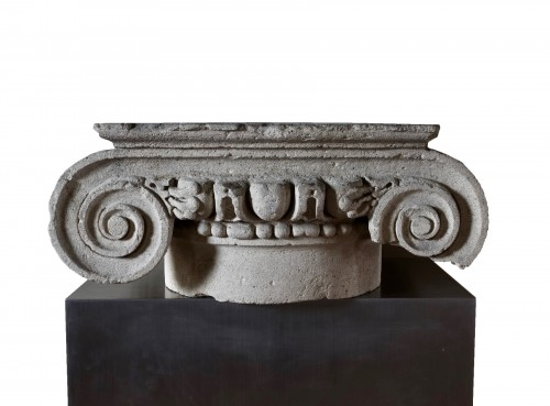 Roman ionic column capital - 2nd century A.D.