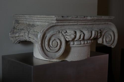 Ancient Art  - Roman ionic column capital - 2nd century A.D.