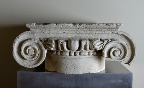BC to 10th century - Roman ionic column capital - 2nd century A.D.