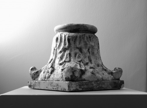 Collection of five small marble capitals - Italy, XVIII-XIX century -