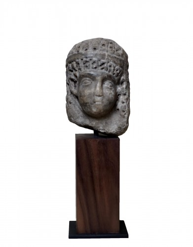 Head of a Ptolemaic Queen, perhaps Cleopatra VII - Ier BC