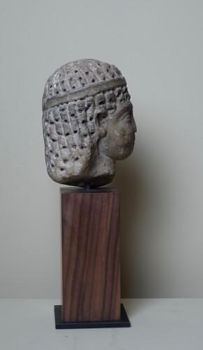 Ancient Art  - Head of a Ptolemaic Queen, perhaps Cleopatra VII - Ier BC
