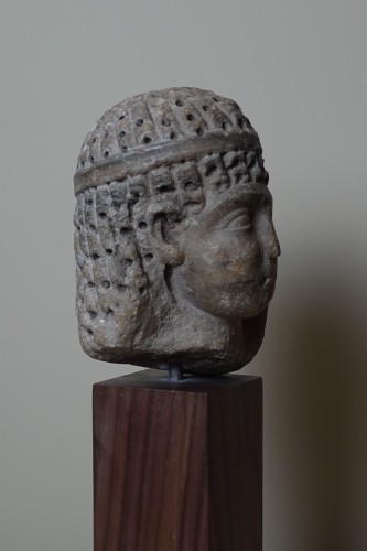 Head of a Ptolemaic Queen, perhaps Cleopatra VII - Ier BC -